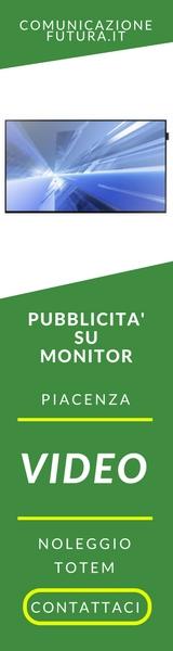 Pubblicità su monitor a Piacenza e Noleggio Totem
